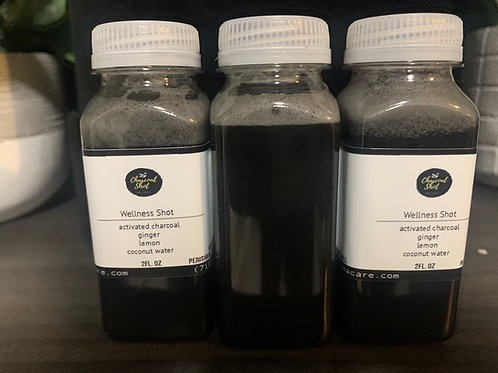 Activated Charcoal Wellness Shots