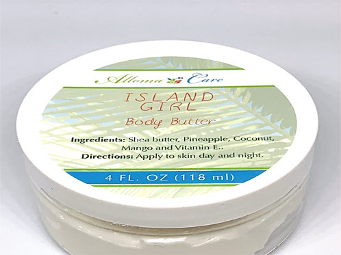 Island Girl Body Butter (4oz)
