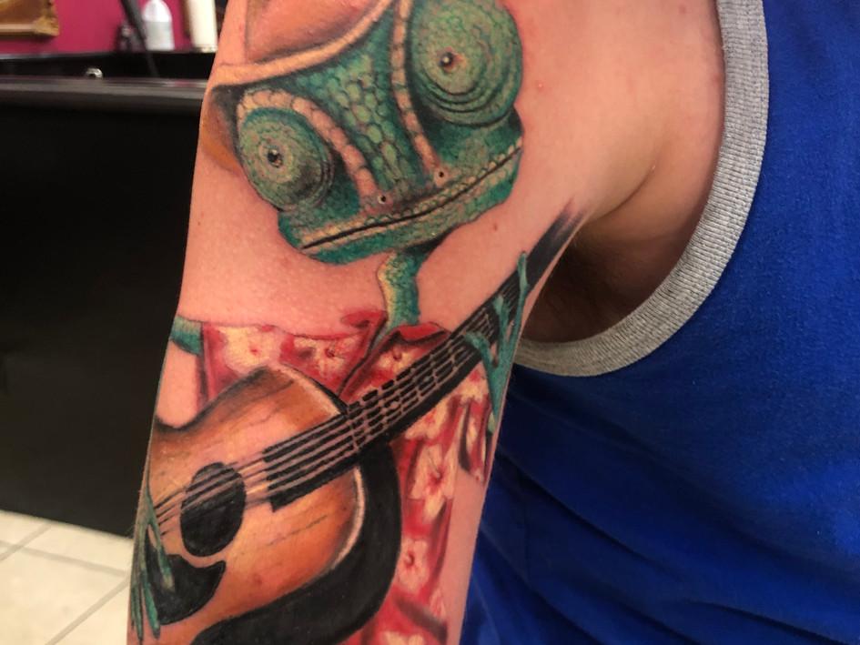 rango lizard tattoo