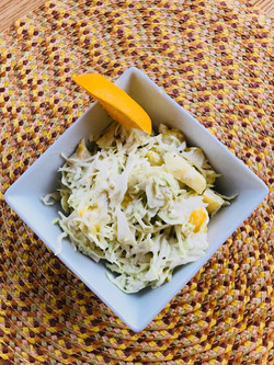 Pineapple Mango Slaw