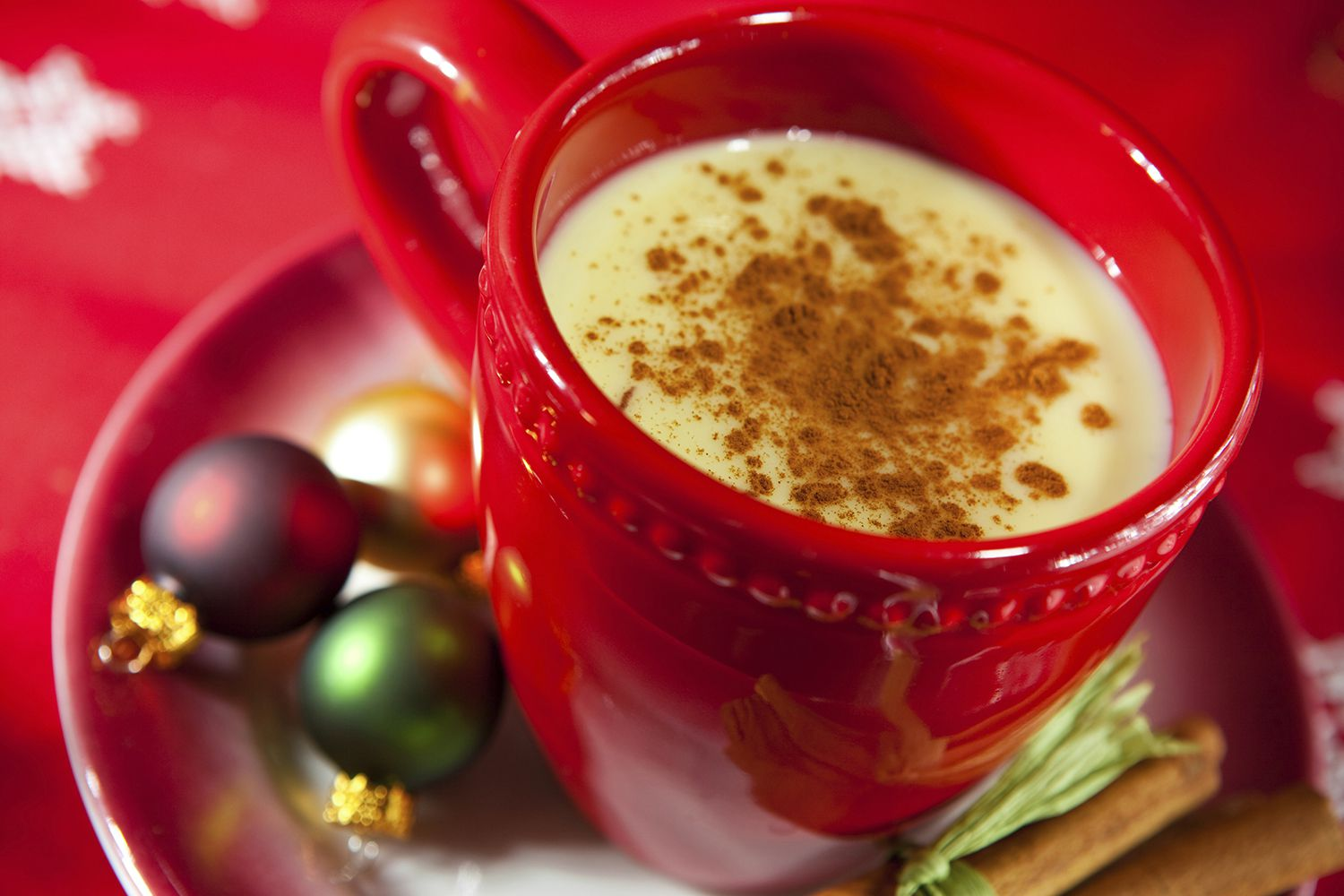 Cup of Aged Eggnog