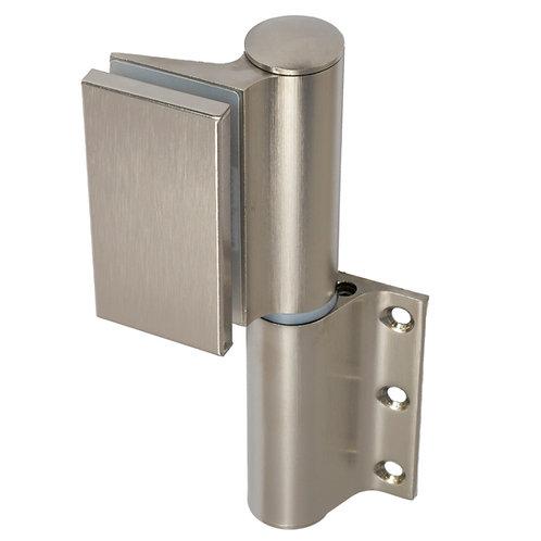 Colcom 835E10 Biloba EVO Hydraulic Glass to Profile Hinge