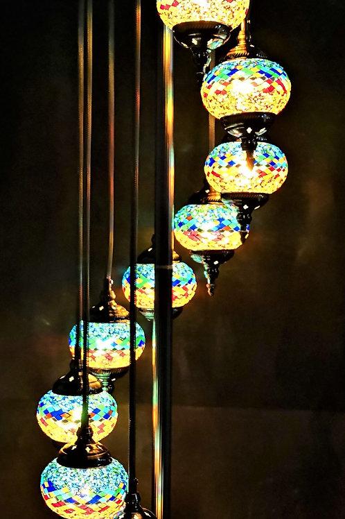TL111 - 9 Tier Turkish Lamp