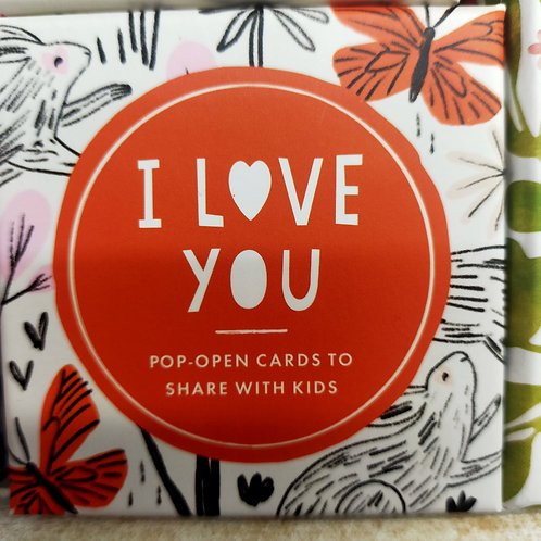 I Love You Pop Open Cards