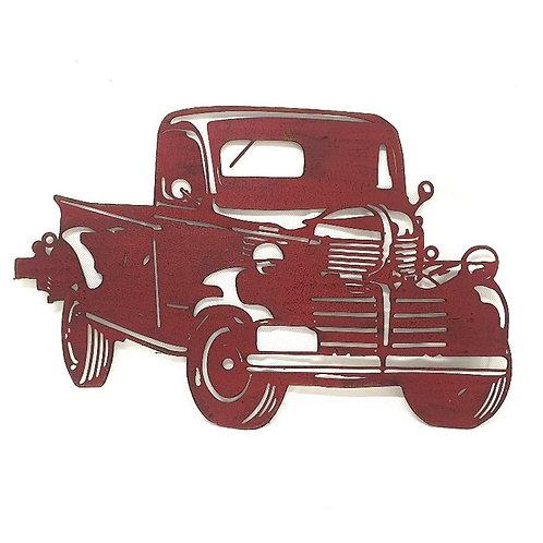 Man Cave Red Lazer Cut Truck
