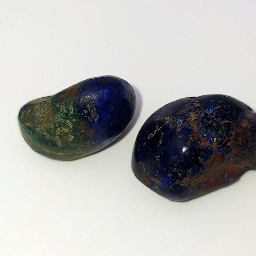 Azurite Tumbles