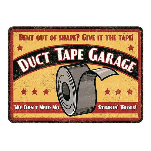 Man Cave Duct Tape Garage