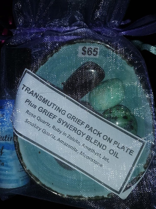 Transmuting Grief Plate $65
