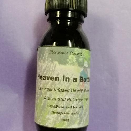 Heaven in a Bottle Massage Oil 100mls $22 60mls $13.30 $13.50