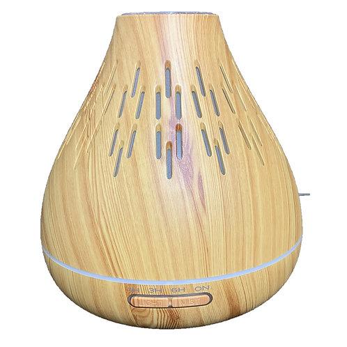 Ultrasonic Aroma Diffuser Natural Wood Grain 400ml