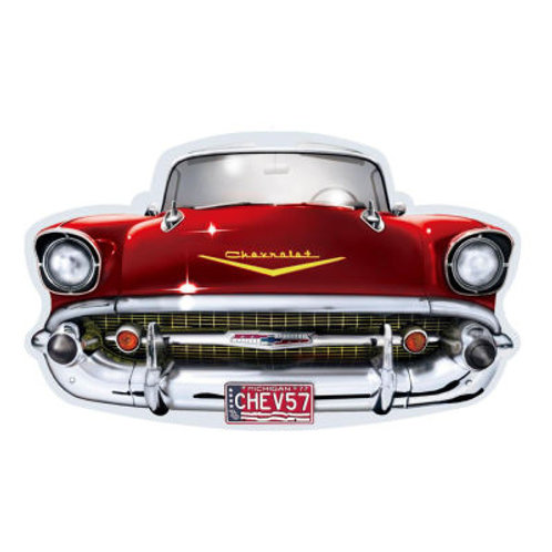 Man Cave 57 Chev wall plaque