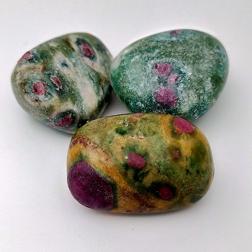 Ruby Fuchsite Tumble $7.50