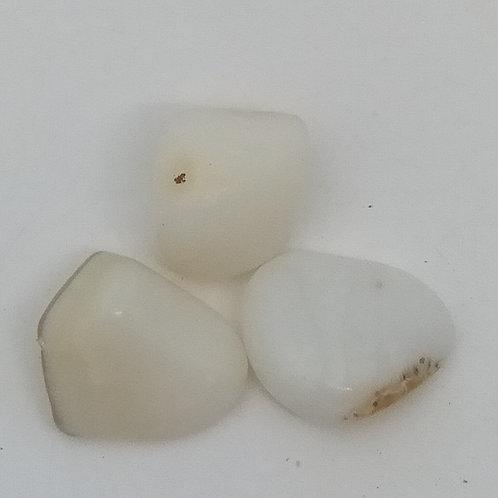 White Opal Tumble Stone