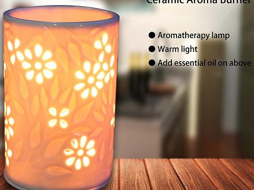 Ceramic Electric Oil Burner Floral