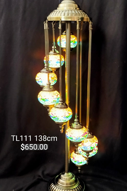 9 Tier Turkish Lamp