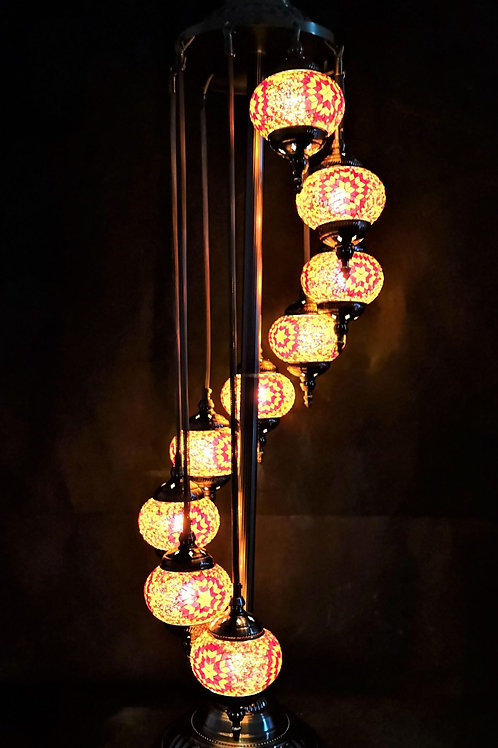 TL110 - 9 Tier Turkish Lamp