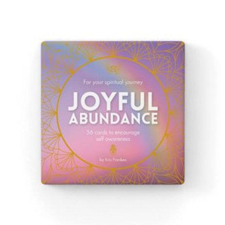 Joyful Abundance Spiritual Journey Cards