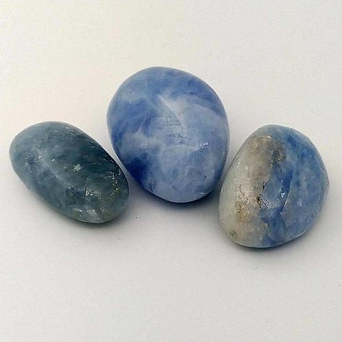 Calcite Blue Tumble