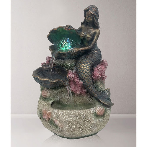 LED Mermaid Water Feature