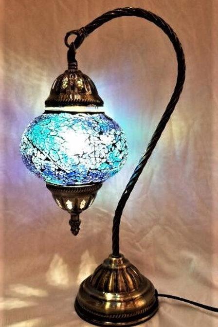 TL28 - Turkish Swan Necked Lamp