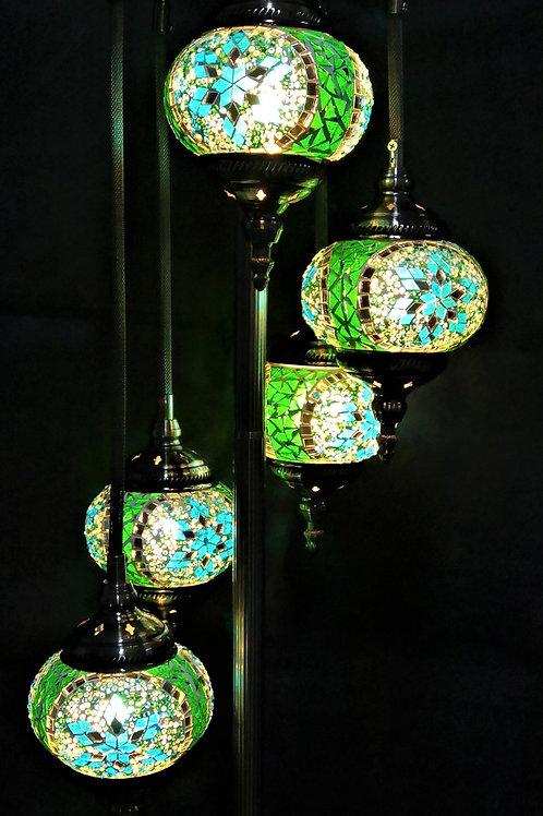 TL154 - 5 Tier Turkish Lamp