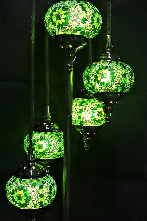 TL123 - 5 Tier Turkish Lamp