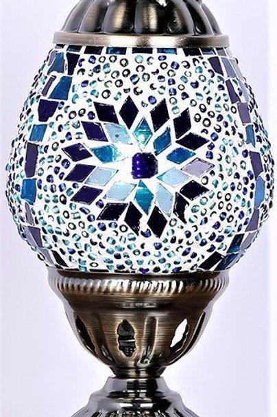 TL64 Oval Turkish Lamp