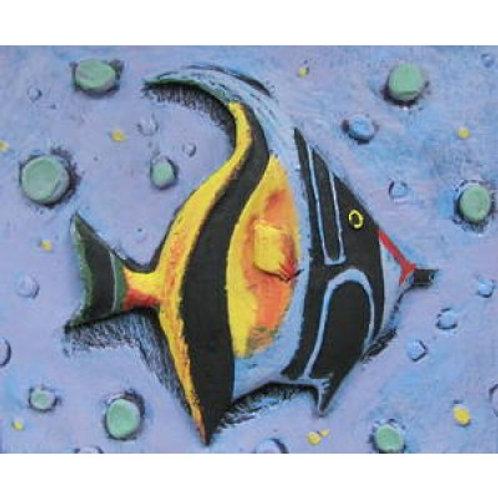 3D Fish 60x50cm