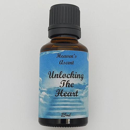 Unlocking The Heart Massage Oil 25mls