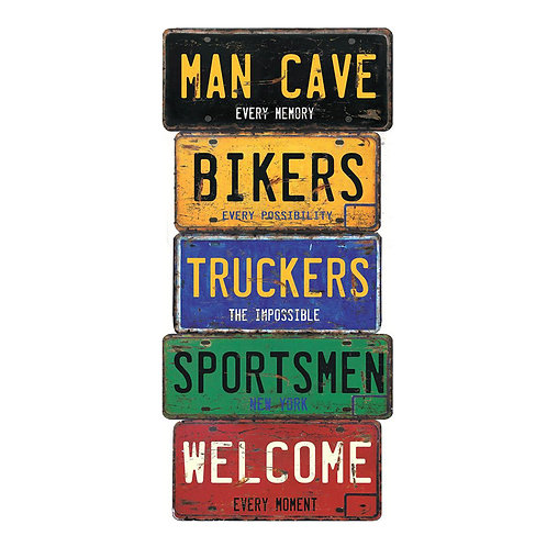 Man Cave Welcome Sign