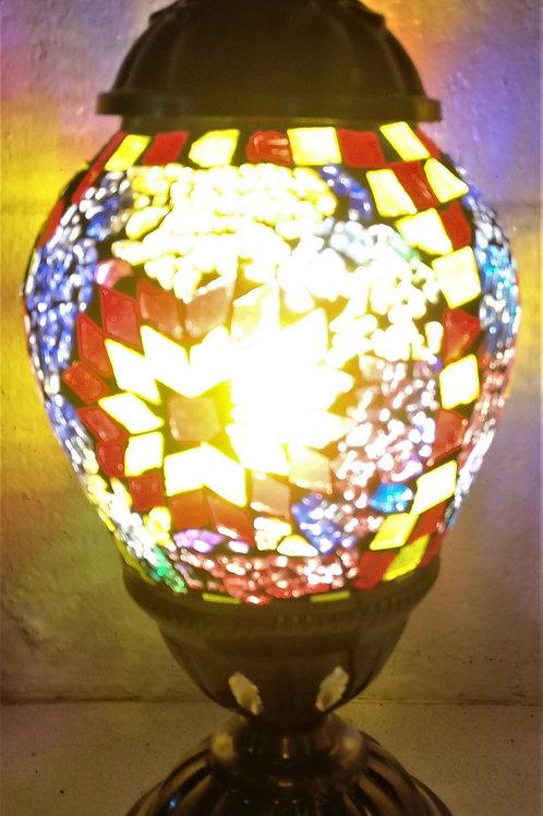 TL8 - Oval Turkish Lamp