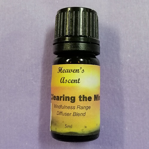 Clearing The Mind: Diffuser Blend 5mls $25