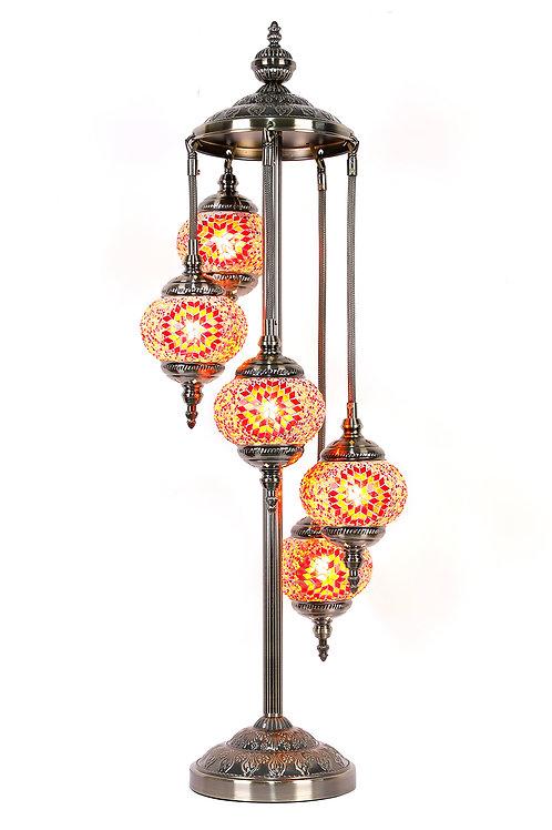 5 Tier Turkish Lamp