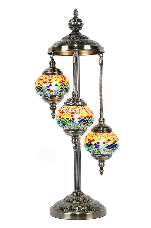 TL46 - 3 Tier Turkish Lamp