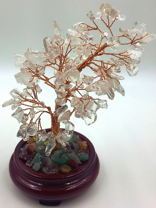 Gemstone Tree Wooden Base - Select for options -