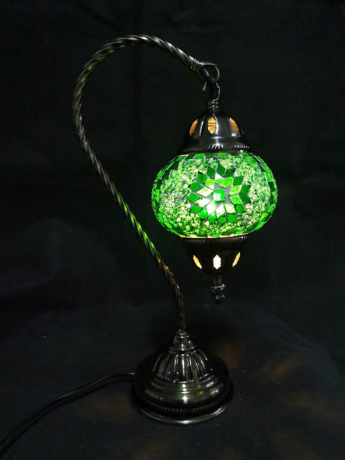TL121 - Swan Necked Turkish lamp