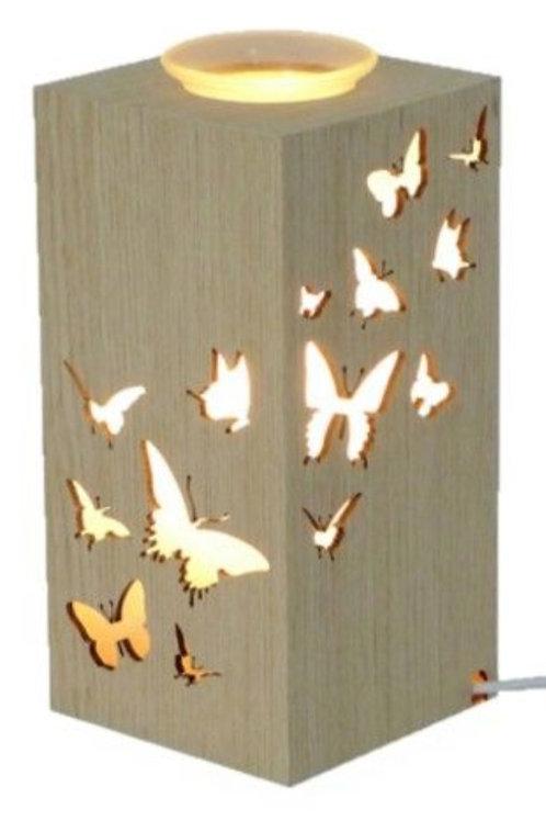Oil Burner Butterfly Wood $45