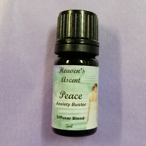 Peace Anxiety Buster: Diffuser Blend 5mls $25