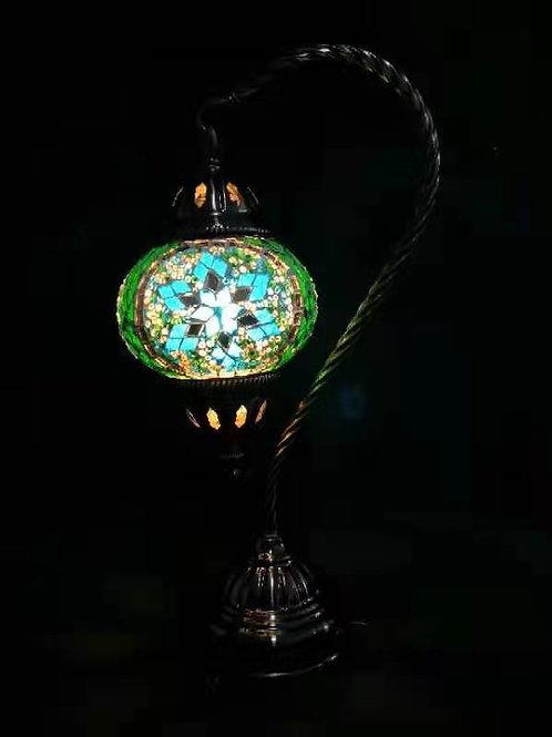TL152 - Swan Necked Turkish Lamp