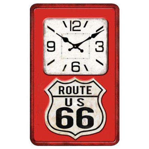 Man Cave Clock Route 66