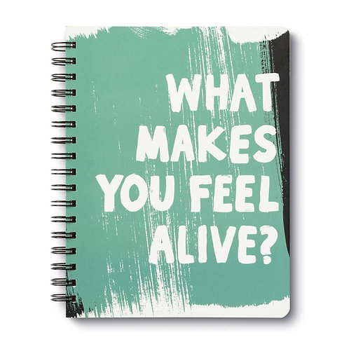 What Makes You Feel Alive? Journal