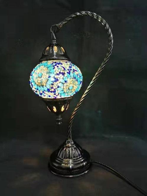 TL144 - Swan Necked Turkish Lamp