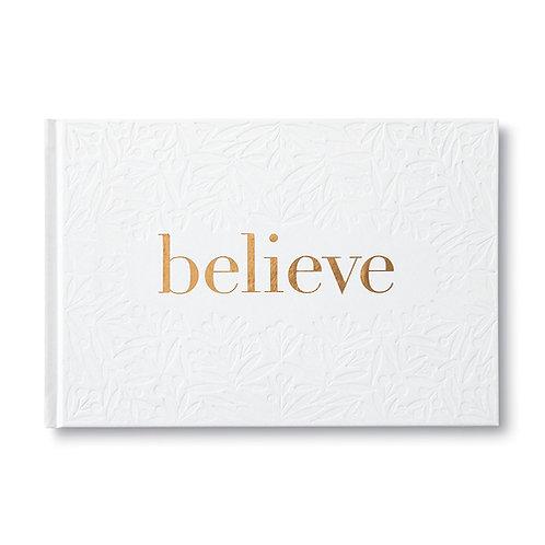 Gift Book Believe