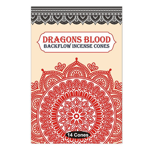 Sacred Tree Dragons Blood Backflow Cones