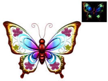 Glow in the dark butterfly