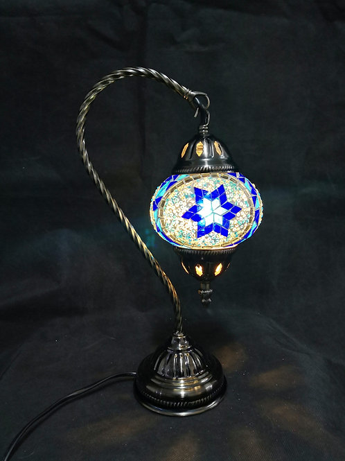 TL156- Swan Necked Turkish lamp
