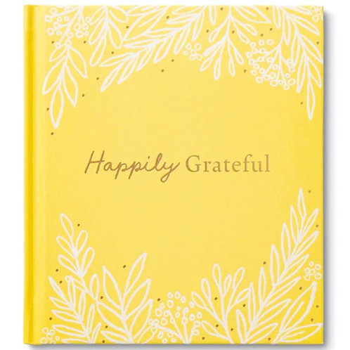 Gift Book Happily Grateful
