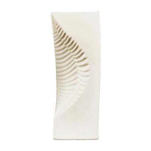 Leaf Indented Lamp White
