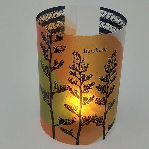 Tealight Lantern Harakeke