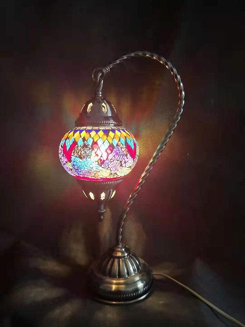 TL136 - Swan Necked Turkish Lamp